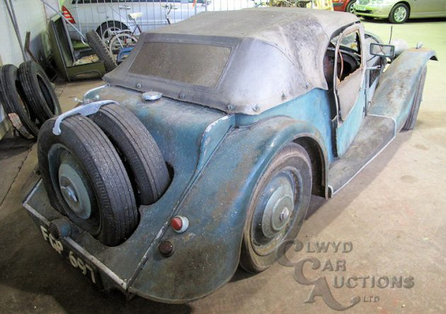 1938 Morgan 4-4 Barn Find