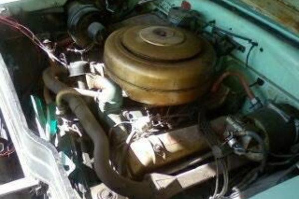 1954 Lincoln Capri Engine