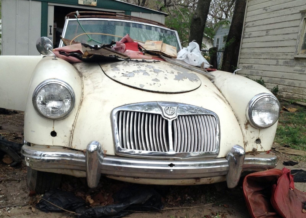One Owner 1959 MGA Project!
