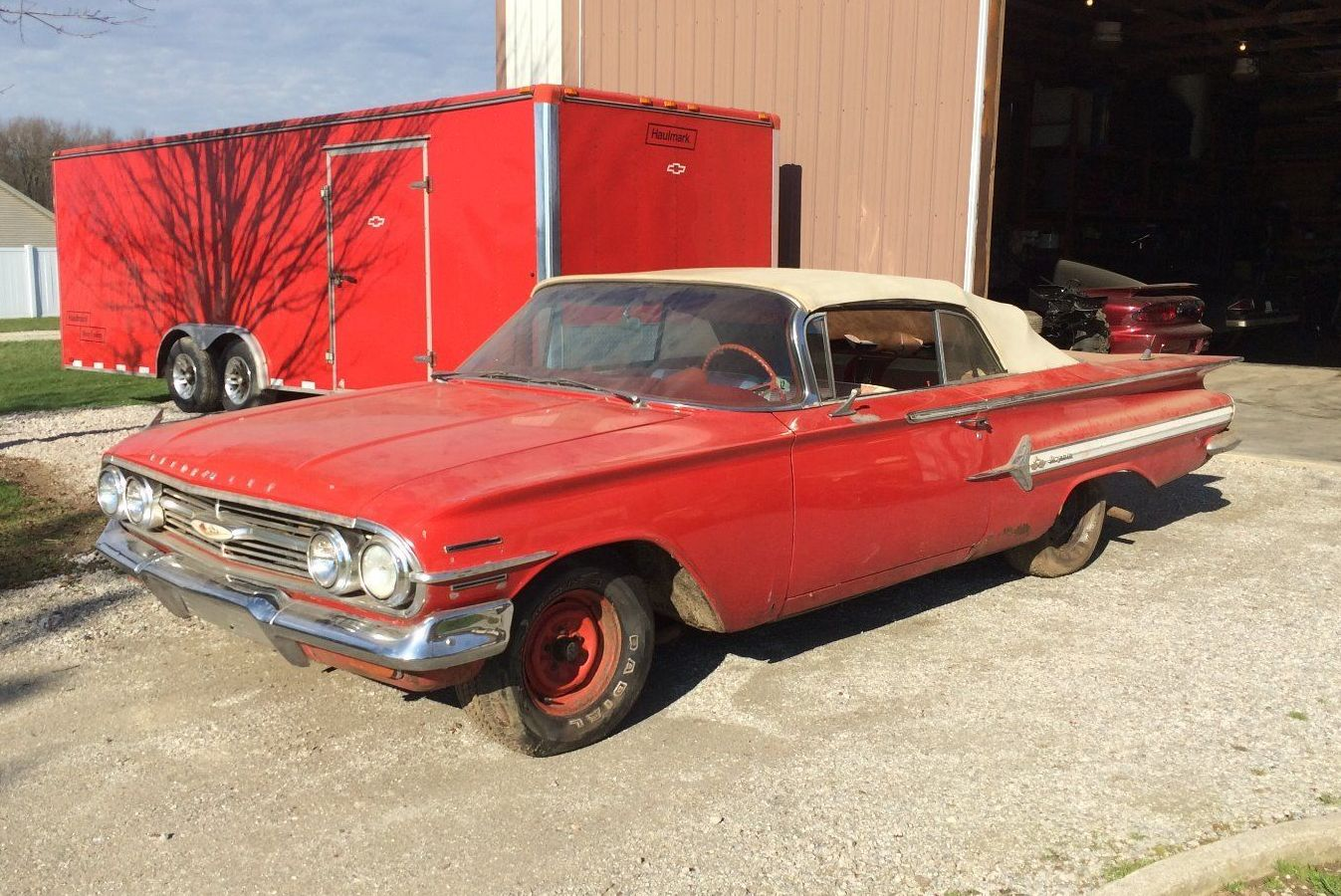 Family Barn Find 1960 Chevrolet Impala