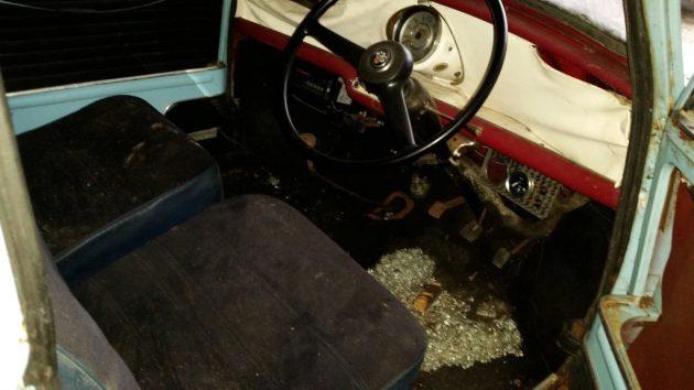 1960 Morris Mini 850 Interior