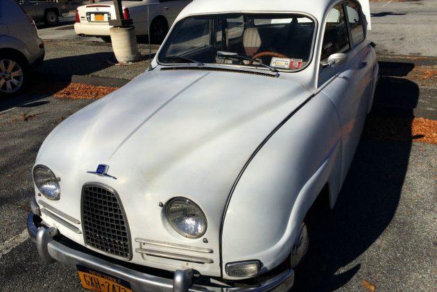 Bull Nose Driver: 1961 SAAB 96