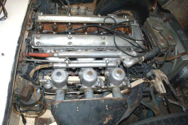 1962 Jaguar E-Type Engine