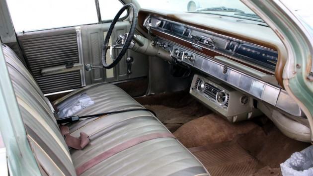 1962 Pontiac Bonneville Interior
