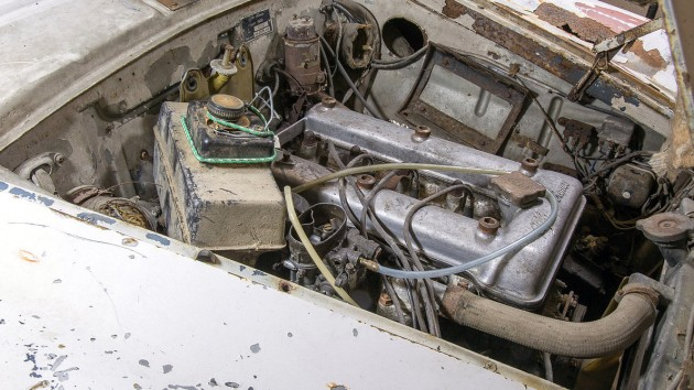1963 Alfa Romeo Giulia 1600 Engine