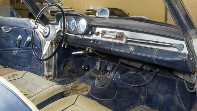 1963 Alfa Romeo Sprint Interior
