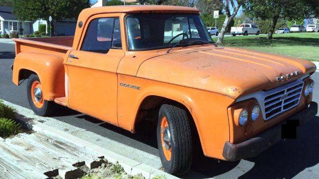 Original Dreamsicle: 1964 Dodge D100