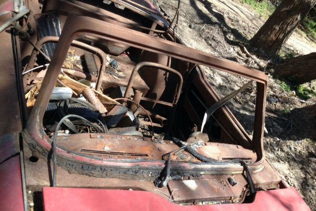 1964 Triumph TR4 Interior