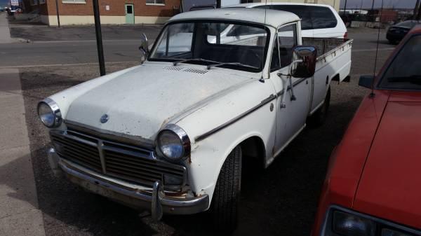 Number 793: 1965 Datsun 1200
