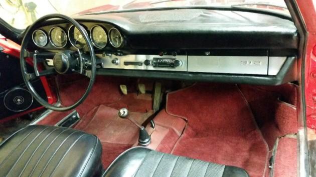 1966 Porsche 912 Interior