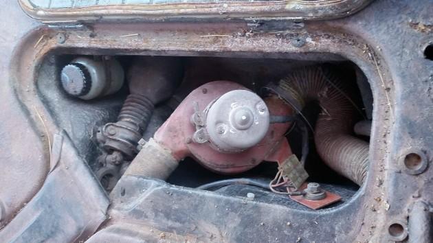 1966 Porsche 912 Smuggler's Box