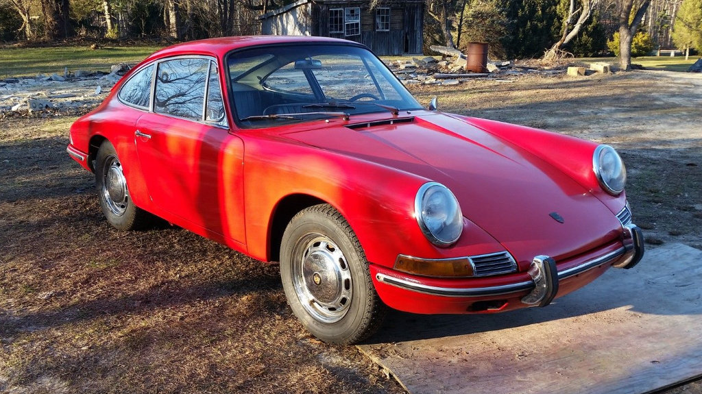 Riding The P-Wave: 1966 Porsche 912