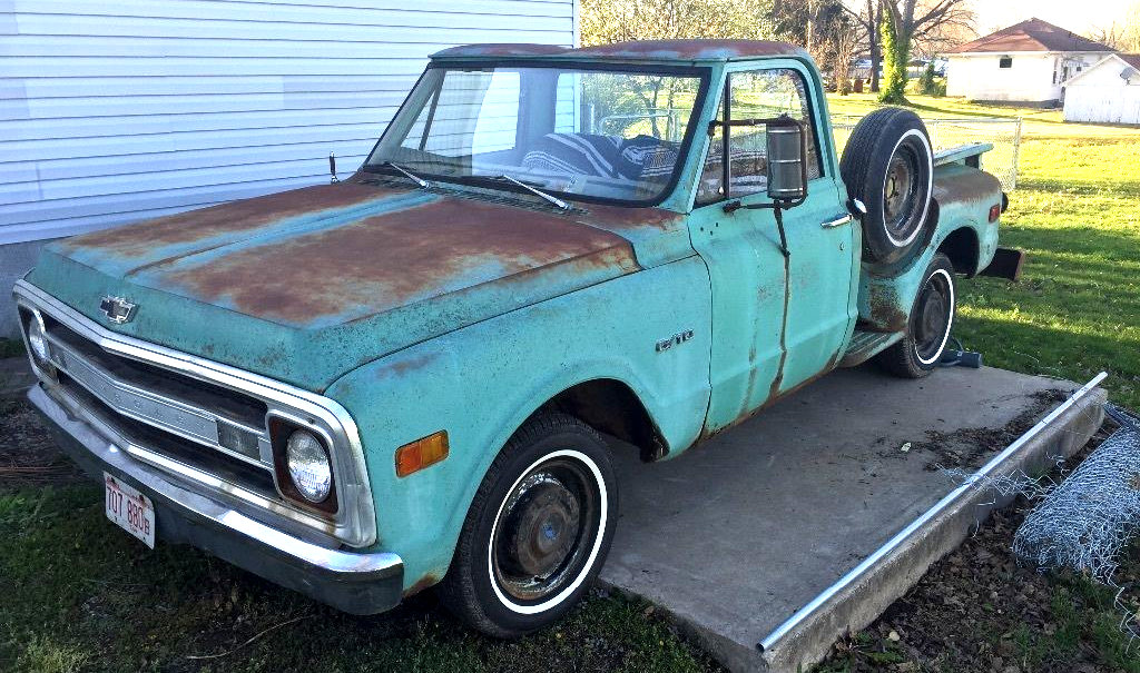 Showthread furthermore 1969 C20 Stepside For Sale as well Technical information further 327 Chevy Engine Pcv Valve Location together with 391344666502. on 1959 chevy truck wiring diagram