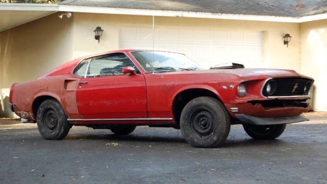 R Code 428 1969 Mustang Mach 1