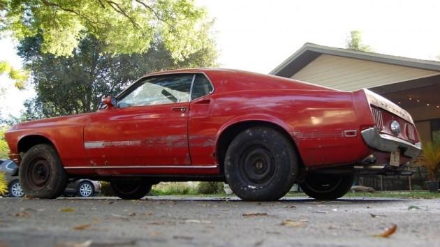 1969 Mustang Mach 1 R-Code