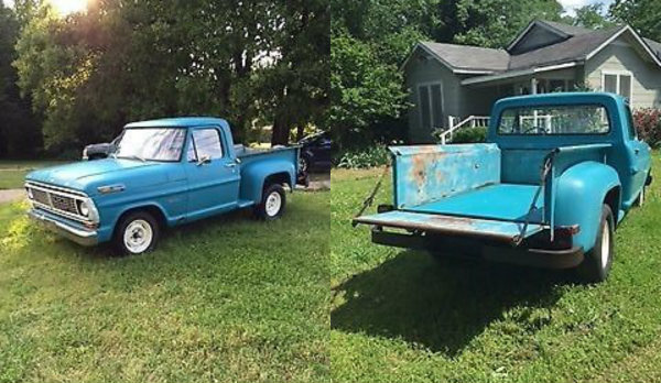 Can You Find A Better One: 1970 Ford F-100