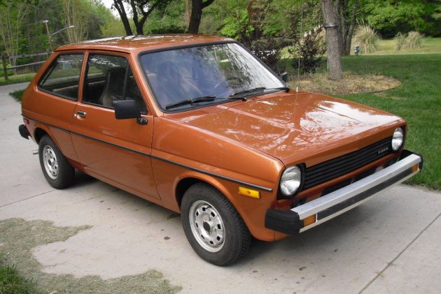 1980 Ford Fiesta With A Truckload Of Parts!