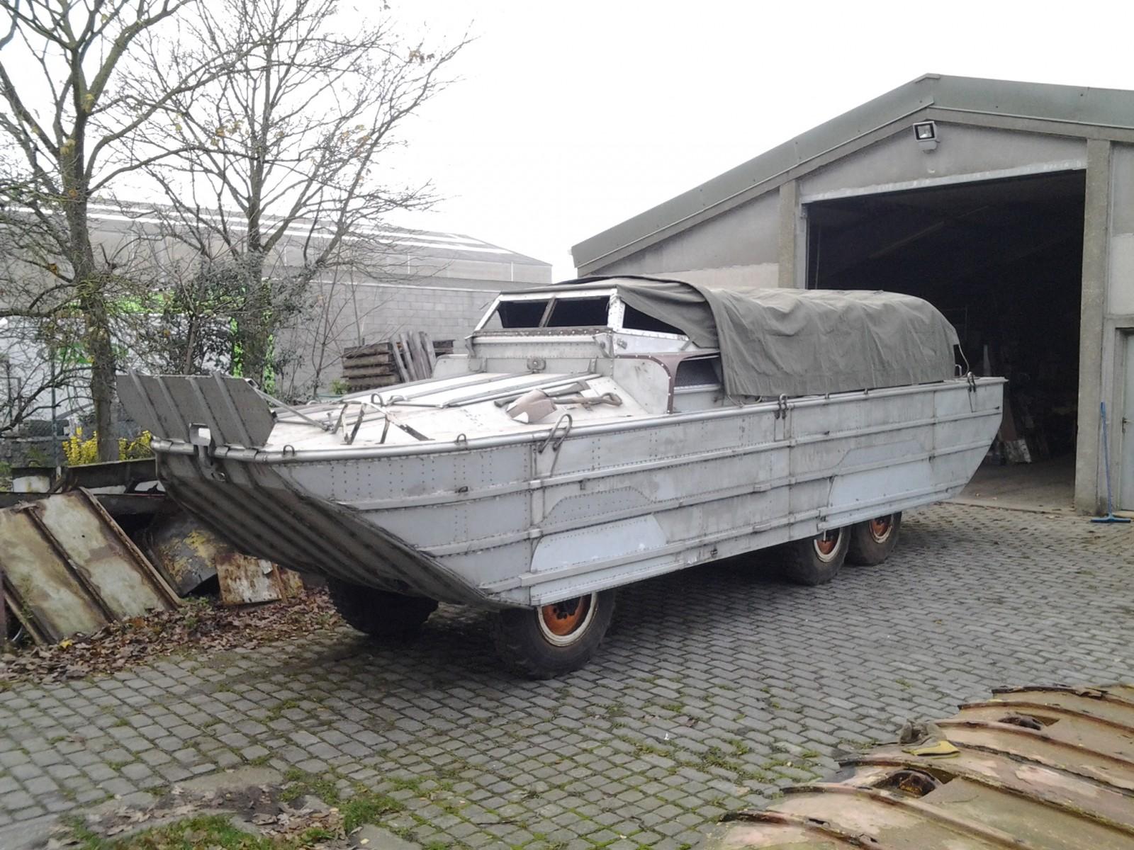 Amphibious Vehicle For Sale >> Dry Docked Duck: DUKW Amphibious Vehicle
