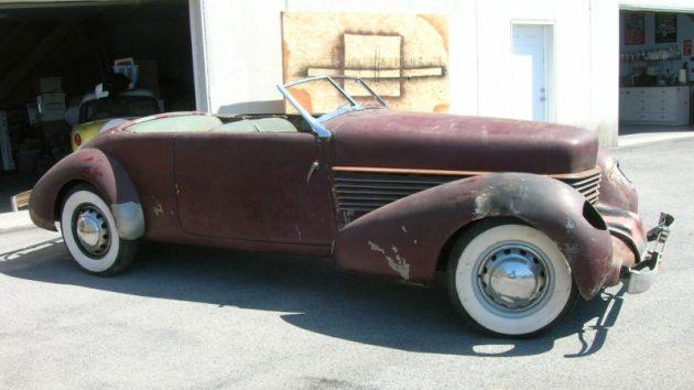 Rare Find: 1936 Cord 810 Phaeton