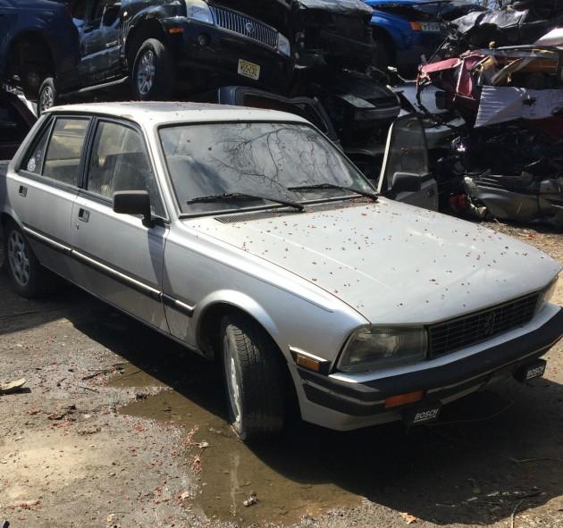 He Won't Junk It: 1985 Peugeot 505 Turbo