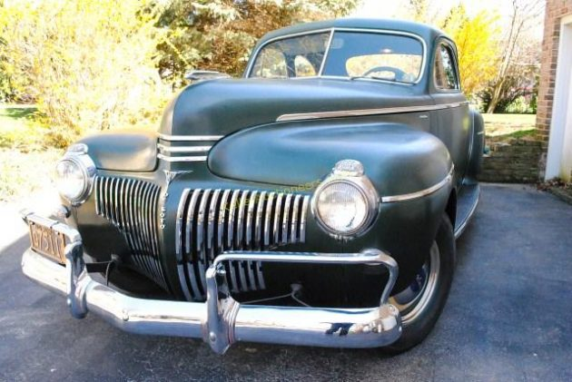 Uncle Clarence's 1941 DeSoto Coupe