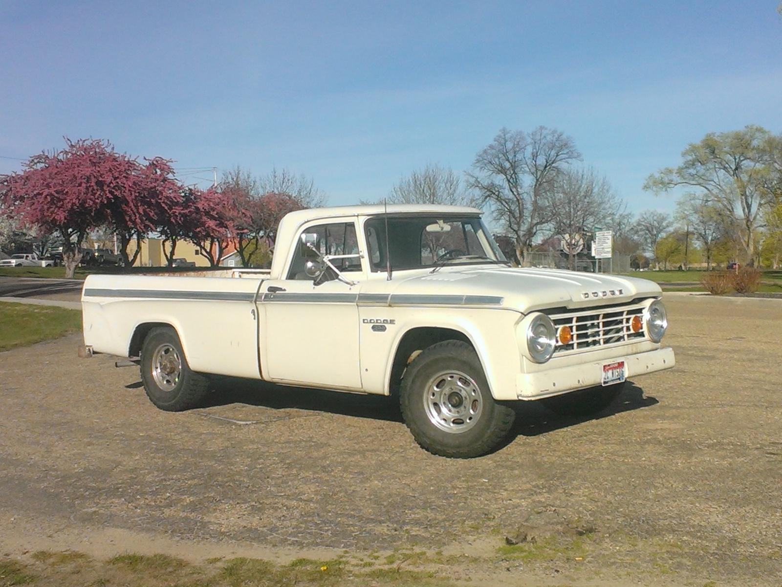 Original Dreamsicle 1964 Dodge D100 1949 Truck I