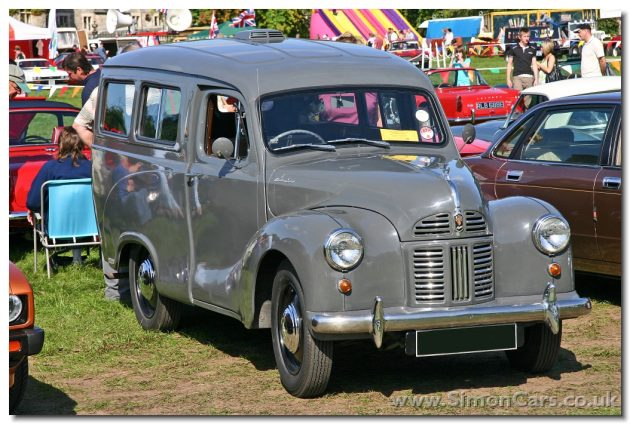 Austin GP4 A40 Countryman. Launched in 1949, the A40 Countryman provided an Estate car by using the Van as a base. This model continued even after the Somerset replaced the Devon and 35,000 were sold until 1956.