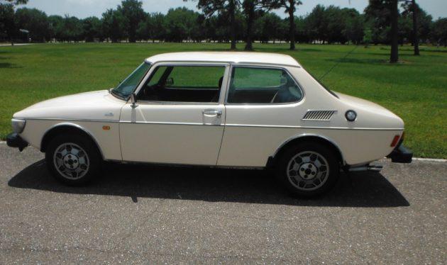 Not a Barn Find: 1977 Saab 99