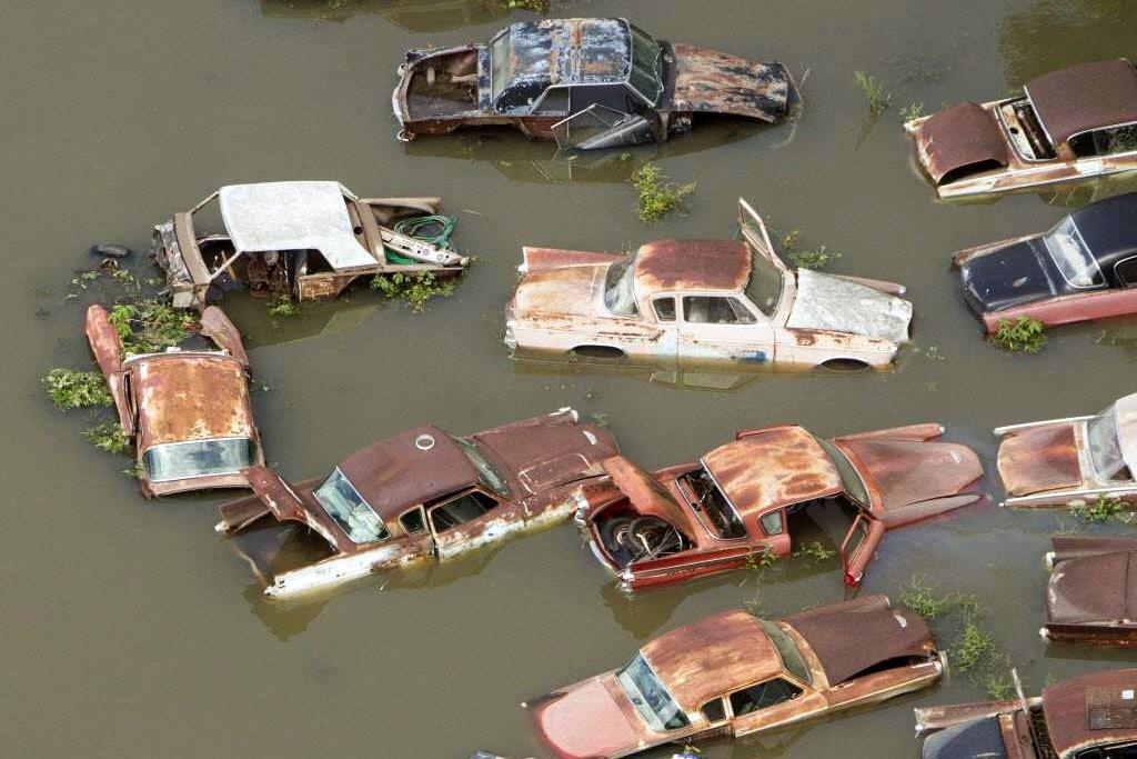 Classics Under Water In Houston