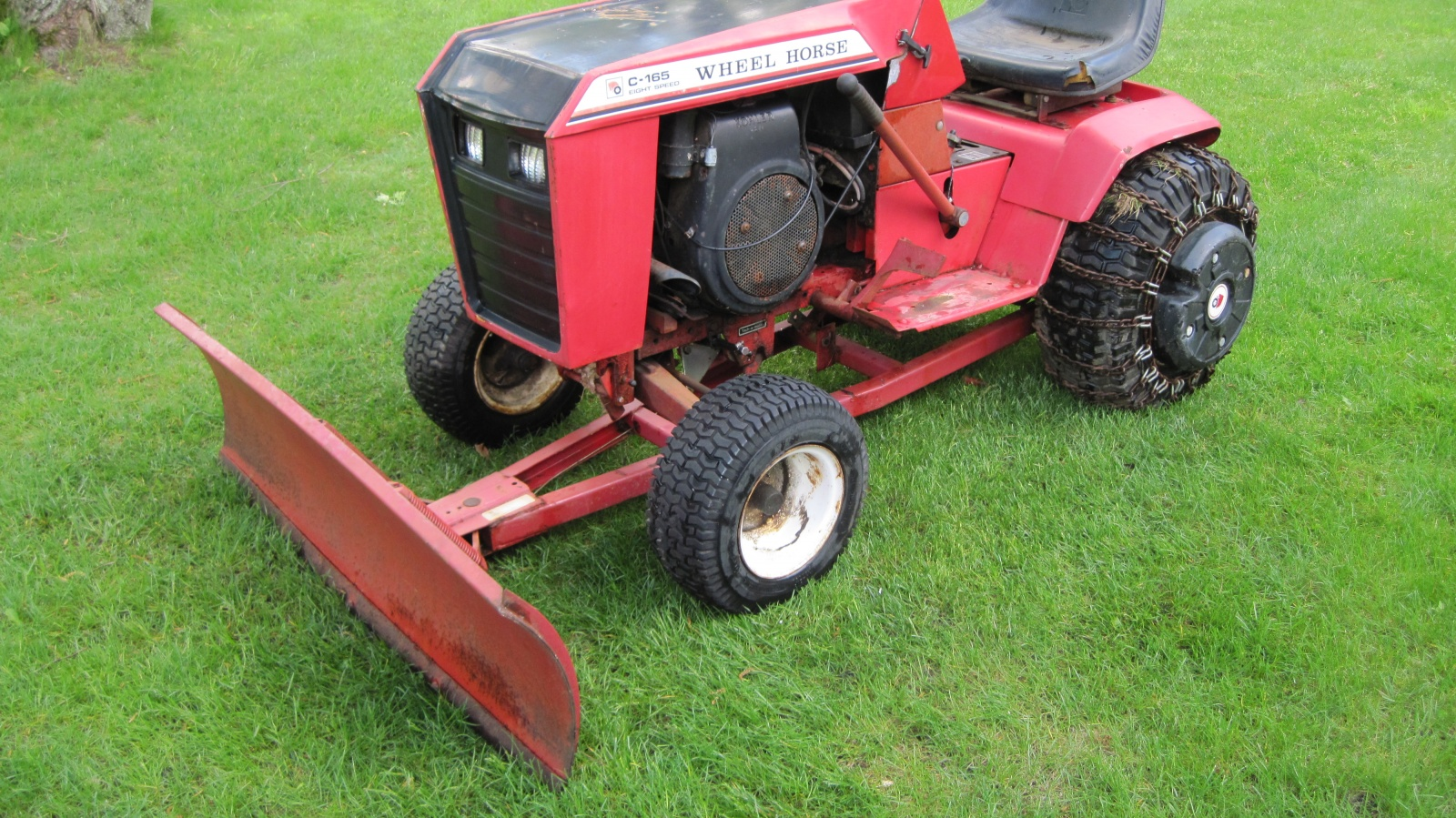 Used Ford Lawn Tractor : Tiny tractor ford lgt garden