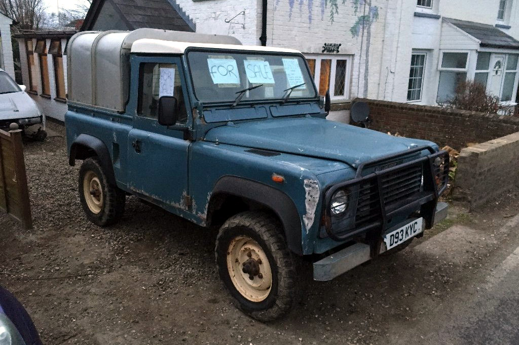 Smokey 4x4 land rover defender 90 for Baker motor company land rover