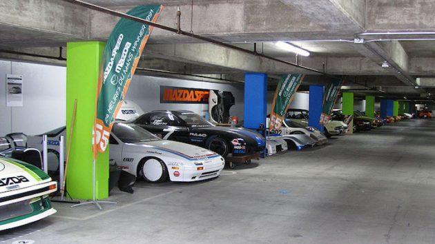 Mazda's Underground Stash!