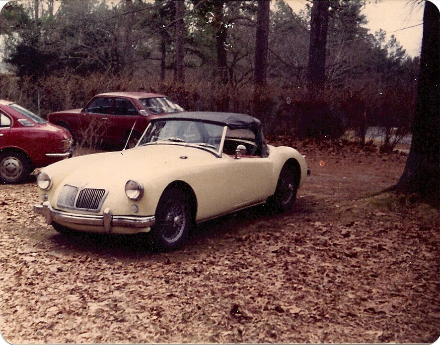 One Owner 1959 MGA Project