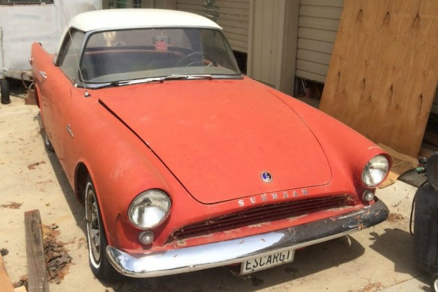 All Wound Up! 1961 Sunbeam Alpine