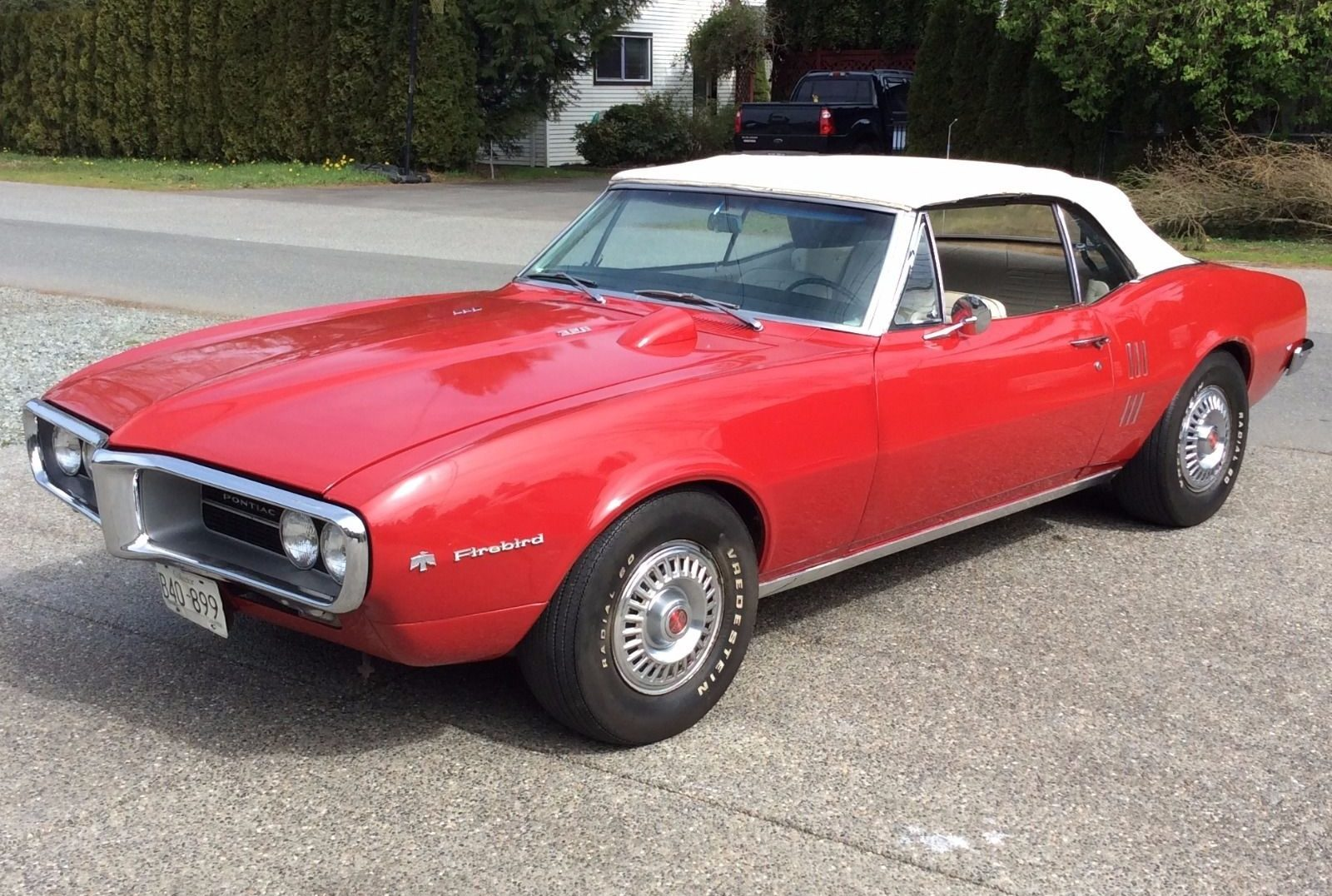 No Reserve V8 And A 4 Speed 1967 Pontiac Firebird