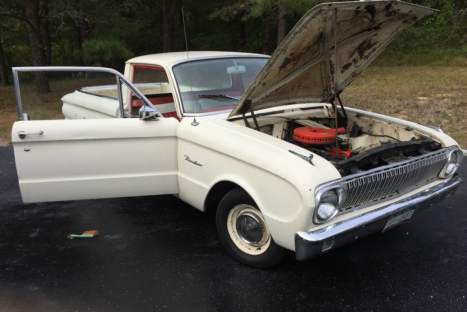 Used Car Auctions >> California To New York: 1962 Ford Ranchero