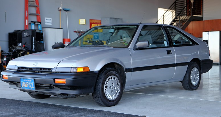 Showroom Novelty 1986 Honda Accord