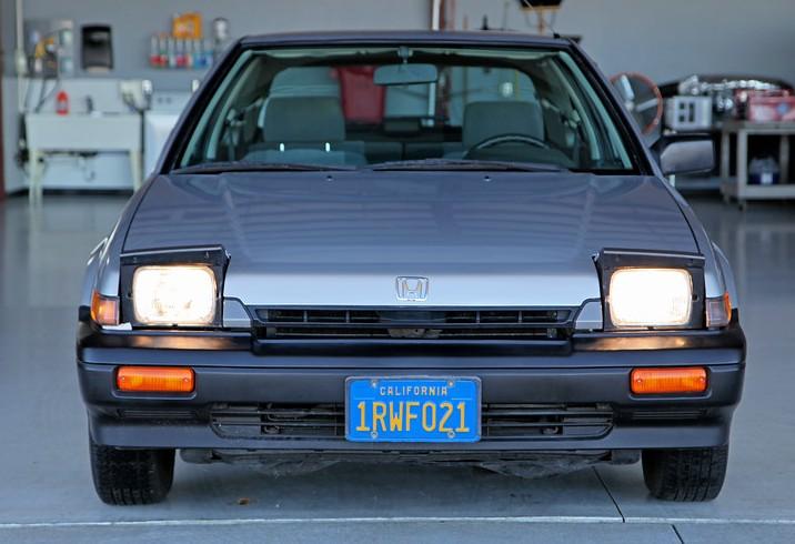 Showroom Novelty 1986 Honda Accord