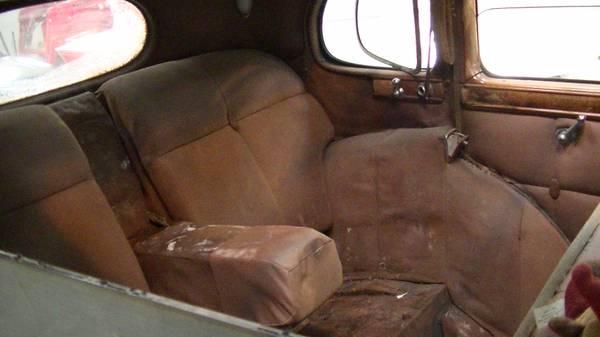 back seat
