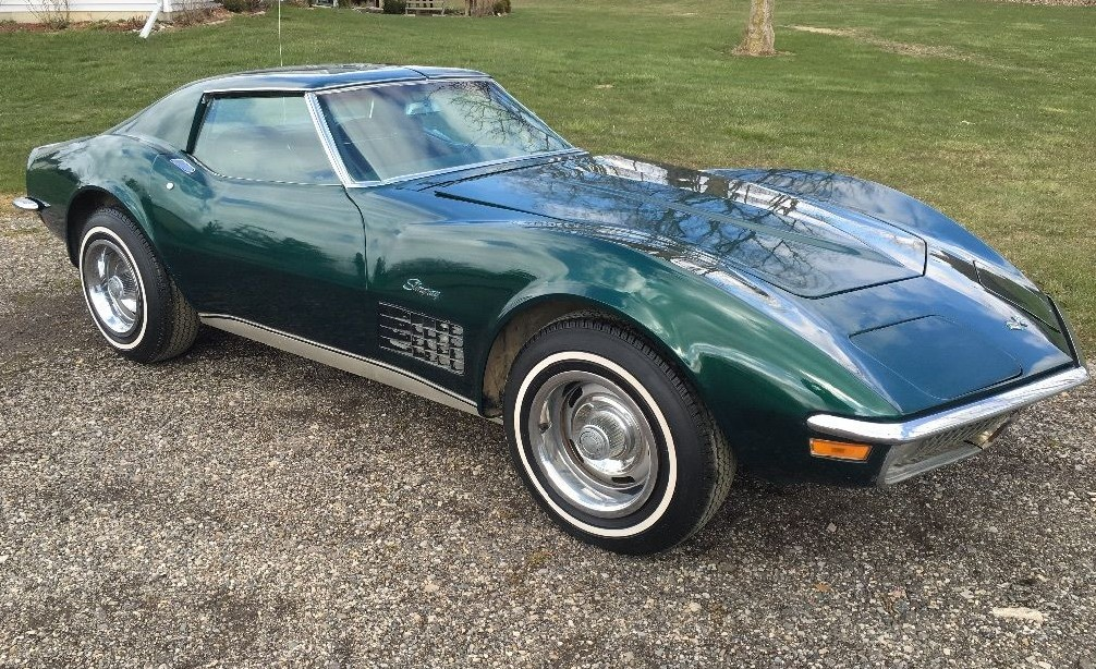Brands Hatch Green 1971 Chevy Corvette