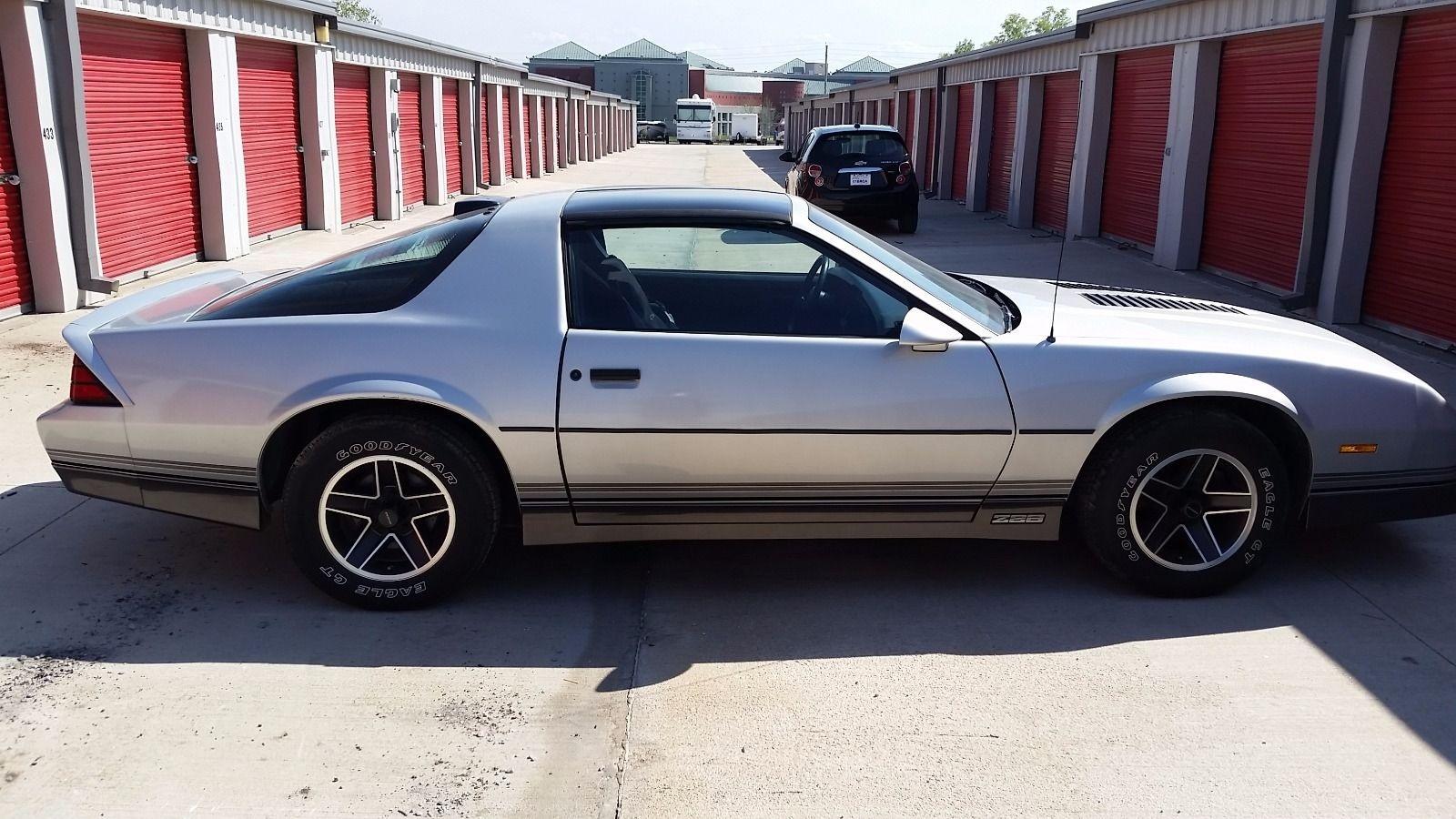 16,015 Careful Miles: 1986 Camaro Z28