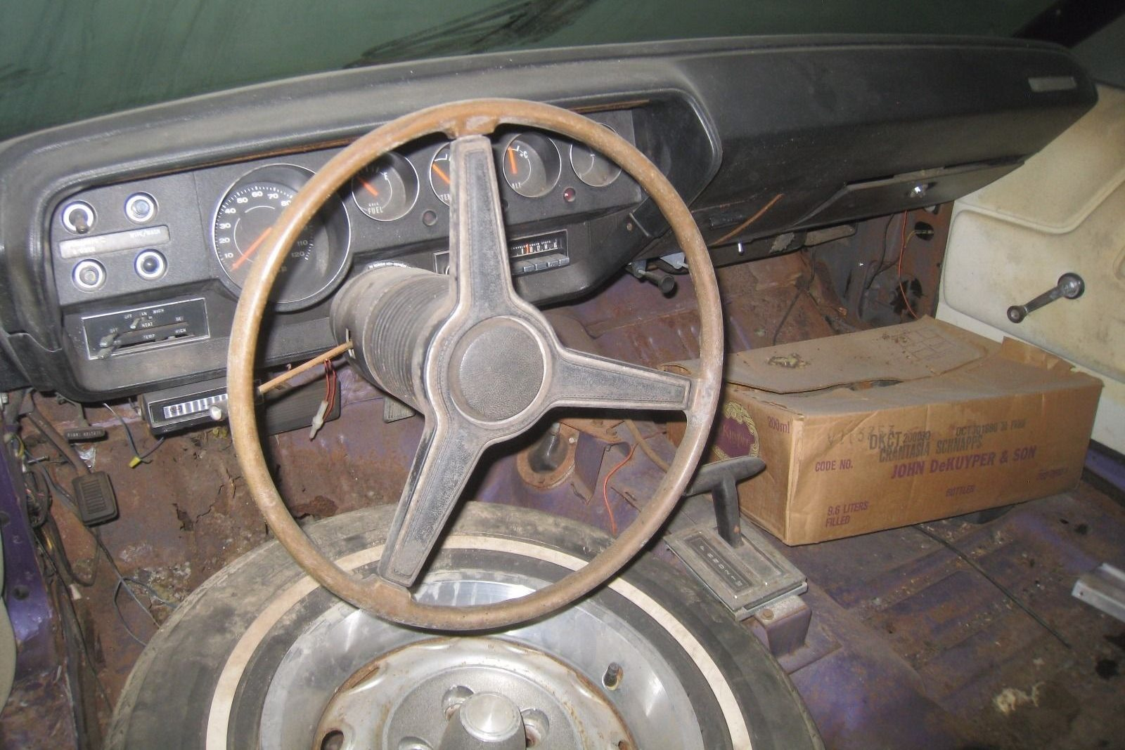 1955 dodge royal barn find for sale - Then I Looked Closer And The Floor Isn T Hopeless And The Dash Actually Looks Pretty Good Maybe This Isn T A Bad Find After