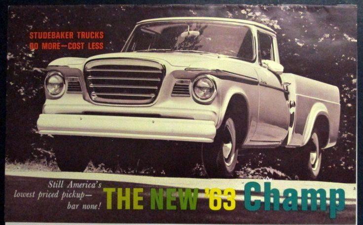 Behind The Barn Find: 1963 Studebaker Truck