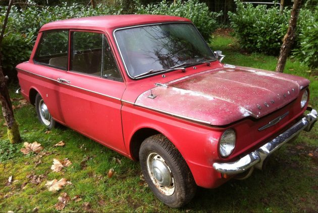 Undercover Find: 1965 Sunbeam Imp!