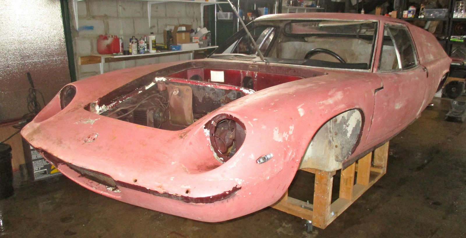 Some Assembly Required: 1969 Lotus Europa S2