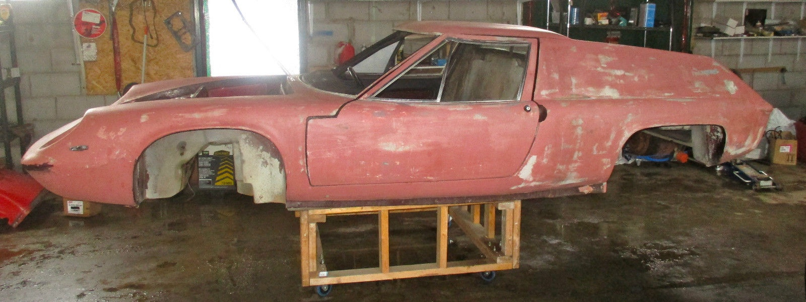 some assembly required 1969 lotus europa s2. Black Bedroom Furniture Sets. Home Design Ideas