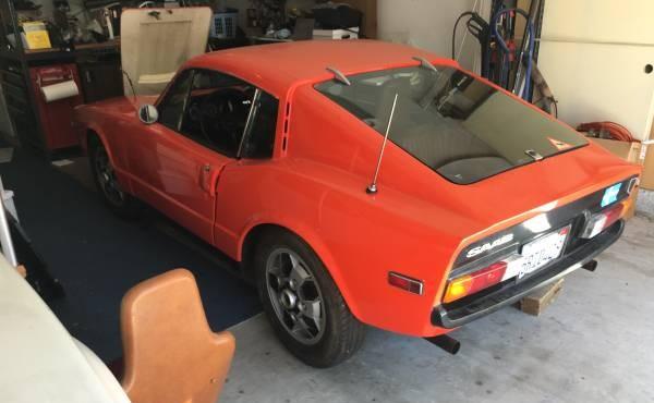 Orange You Pretty! 1972 Saab Sonett lll
