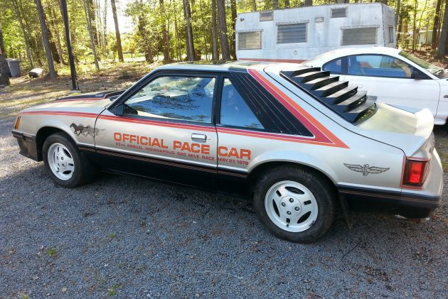 Sequestered Since 1993: 1979 Ford Mustang Pace Car