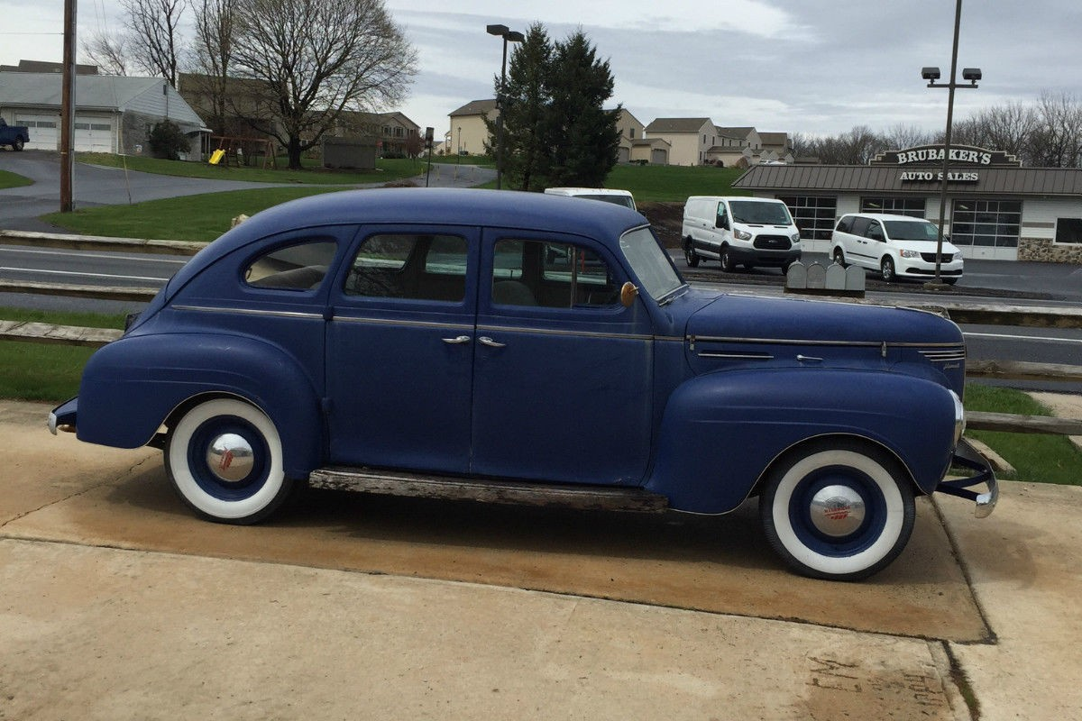 Running driving barn find 1940 plymouth for 1940 plymouth 2 door sedan