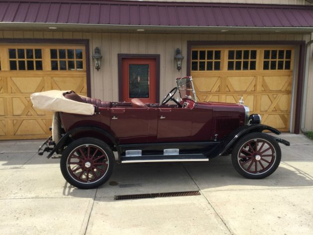 Stored And Restored: 1923 Willys Red Bird